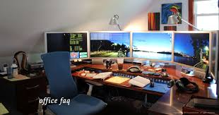Awesome home office setup ideas rooms Computer Desk Some Cool Office Setup Pinterest Some Cool Office Setup Technology Pinterest Home Office Home