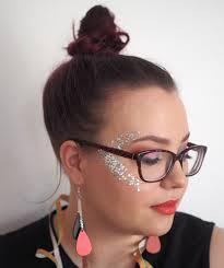 glitter highlight