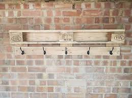original handmade pallet coat rack