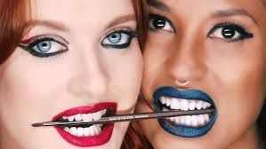 make up for ever x icona pop set the se to reveal artist rouge lipsticks