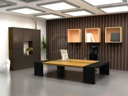 interior decoration for office. the modern office interior design 3d render decoration for l
