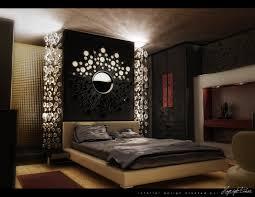 Bedroom Modern Dark Bedroom Theme Ideas With Nice Lighting