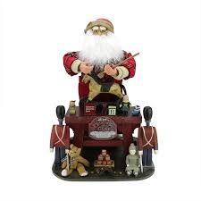 "21"" <b>Decorative Retro</b>-<b>Style</b> Santa Claus the Toy Maker with Work ..."