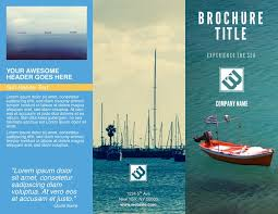 Photo Brochure Free Brochure Templates Examples 20 Free Templates