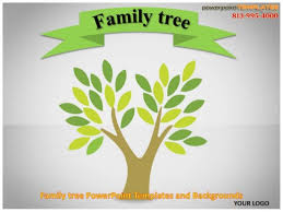 Tree Powerpoint Template Family Tree Powerpoint Templates And Backgrounds
