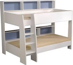 loft bed with shelves. Unique Loft Kids Avenue Tam White Bunk Bed With Shelves For Loft Bed With Shelves The Home And Office Stores Logo
