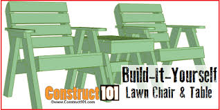 lawn chair plans construct101