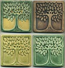 Arts And Crafts Decorative Tiles 100 best tiles images on Pinterest Celtic tree of life Room tiles 5