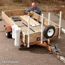utility trailer upgrades diy family