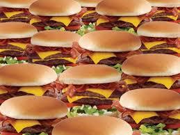 bacon cheeseburger wallpaper. Exellent Cheeseburger Bacon Cheeseburgers  Pop Art Inside Cheeseburger Wallpaper E