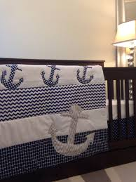 baby boy anchor crib bedding nursery