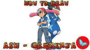 How To Draw Ash Greninja Pokemon - Novocom.top