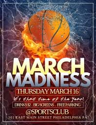 March Madness Flyer March Madness Template Postermywall