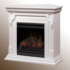 dimplex warren electric fireplace white use in corner or along a flat wall