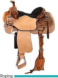 13 to 17 reinsman team roping saddle 4400 w free pad 51 jpg