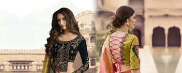String Blouse Designs Top 8 Latest Blouse Designs Rajwadi Medium