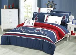 seaside bedding sets blue red white anchor duvet cover set l seasons collection nautical bedding sets seaside bedding sets anchors
