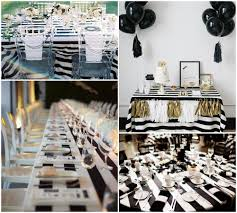 Black And White Party Table Decorations Ideas | Party | Pinterest ...