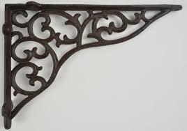 cast iron shelf brackets wall shelf