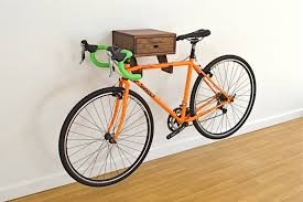 ... Rack, Wall Bike Rack Mount Diy Design: Fascinating Wall Bike Rack Ideas  ...