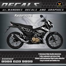 Decals Design For Raider 150 Raider 150 Fi Decals