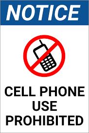 No Cell Phone Use Signs Barca Fontanacountryinn Com