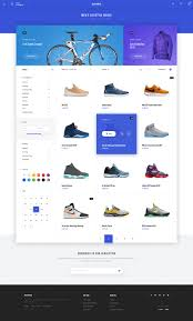 Ecommerce Web Design Layout Agora A Modern Bright And Memorable Ecommerce Template