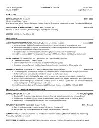 Banking Resume Sample Inspirational Sample Resume Investment Banking