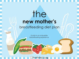 Lactation Diet Chart The Breastfeeding Mom Diet