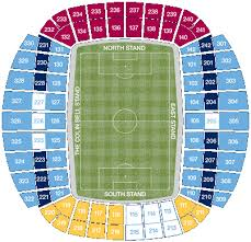 Etihad Stadium Manchester Seating Chart Manchester City Of Manchester Stadium Expansion 54 000