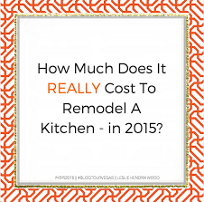 How Much Kitchen Remodel Impressive Inspiration