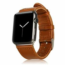 brown leather mesh xl wristband band strap for iwatch 42mm apple watch new