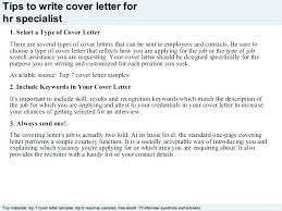 Sample Human Resources Cover Letter Cover Letter Examples For Human