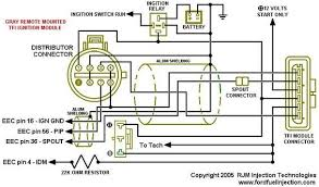 ford tfi wiring ford auto wiring diagram schematic ford remote tfi to holley efi wiring help on ford tfi wiring