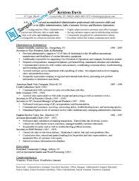 Executive Assistant Job Description For Resume Jobtion Resume Administrative Assistant Administration Cv Intended 7