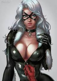 black cat marvel. Contemporary Cat Image May Contain 1 Person On Black Cat Marvel 0