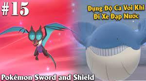 Pokémon Sword and Shield #15 - Cho Noibat Chơi Thuốc Tiền Hóa Thành Noivern  Và Đi Xe Trên Nước - YouTube