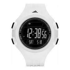 adidas men 039 s 53mm white silicone band plastic case quartz adidas men s 53mm white silicone band plastic case quartz black dial digital watch adp3261