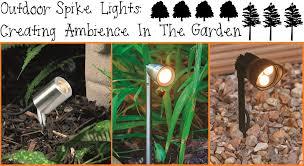 outdoor spike lights image