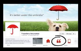 Four Clever Facebook Tab Additions For Insurance Brands Lonelybrand Unique Travelers Insurance Quote