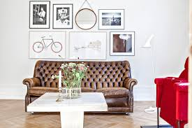 Scandinavian Design Living Room Living Room Black Coffee Table And White Table Lamps With Gray