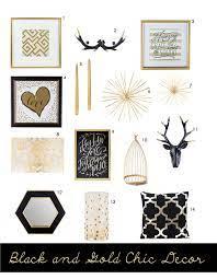 hobby lobby black gold decor a
