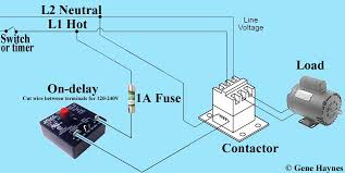 on delay wiring wiring diagram for you • how to wire on delay timer rh waterheatertimer org time delay on relay wiring diagram delay