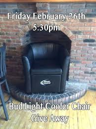 bud light chair bud light chair with speakers