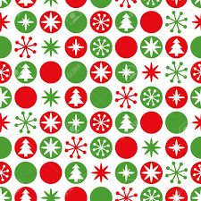 Christmas Pattern Background Stunning Simple Geometric Seamless Christmas Pattern Traditional Green