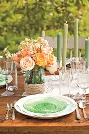 Country Table Decorations Spring Table Decor Spring Table Decor Inspiration Ideas Setting