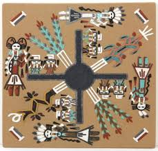 229 navajo sand painting on