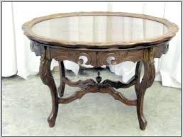 tray top coffee table antique coffee table with removable glass tray top oval tray top coffee table