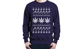 10 Gloriously Ugly Cannabis-Themed Holiday Sweaters | Leafly