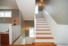 basement stairwell lighting. Stairwell Ideas Craftsman Staircase With Wall Once Carpet In For Idea Basement Lighting R